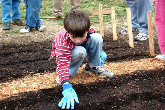 Child and Soil