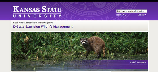 K-State Extension Wildlife Management